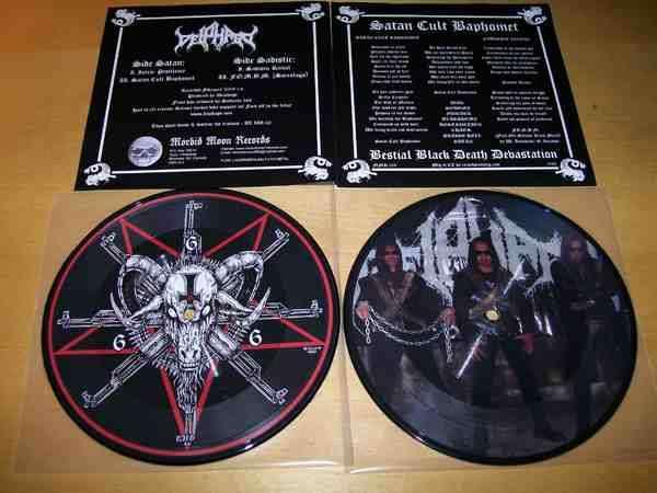 DEIPHAGO Satan Cult Baphomet. Picture EP