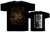 ONDSKAPT - Arisen From The Ashes. M Size - T-shirt