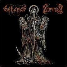 SATHANAS / NOMINON - Split EP - 45T