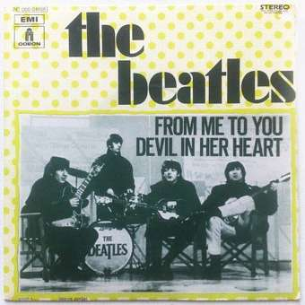 From Me To You Devil In Her Heart By Beatles Sp With