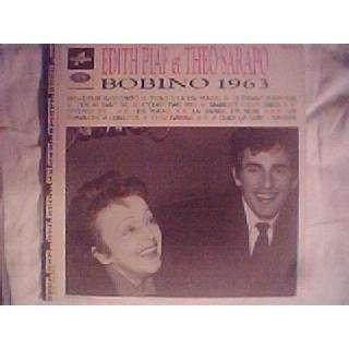 Edith piaf et theo sarapo Bobino 1963