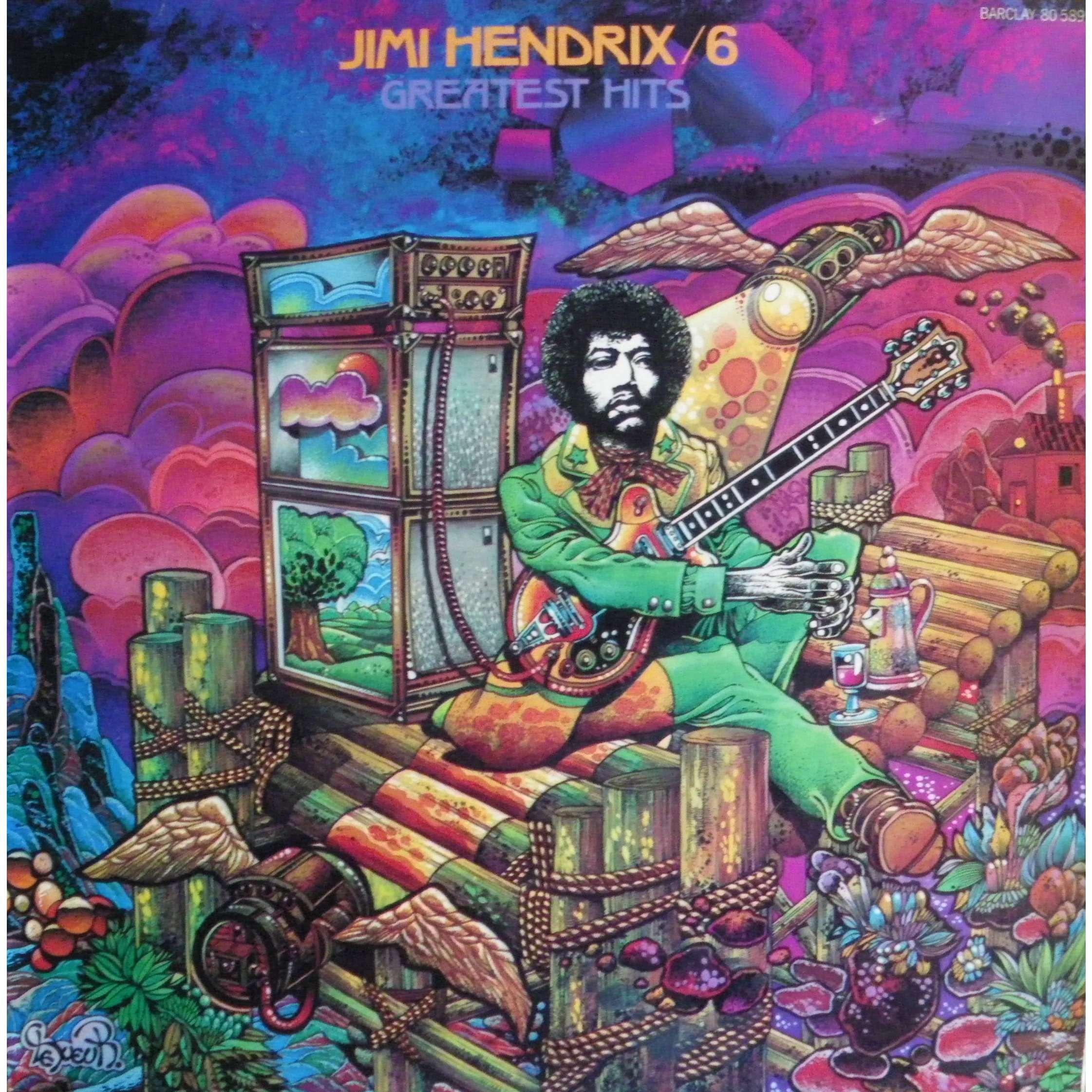 JIMI HENDRIX greatest hits n°6