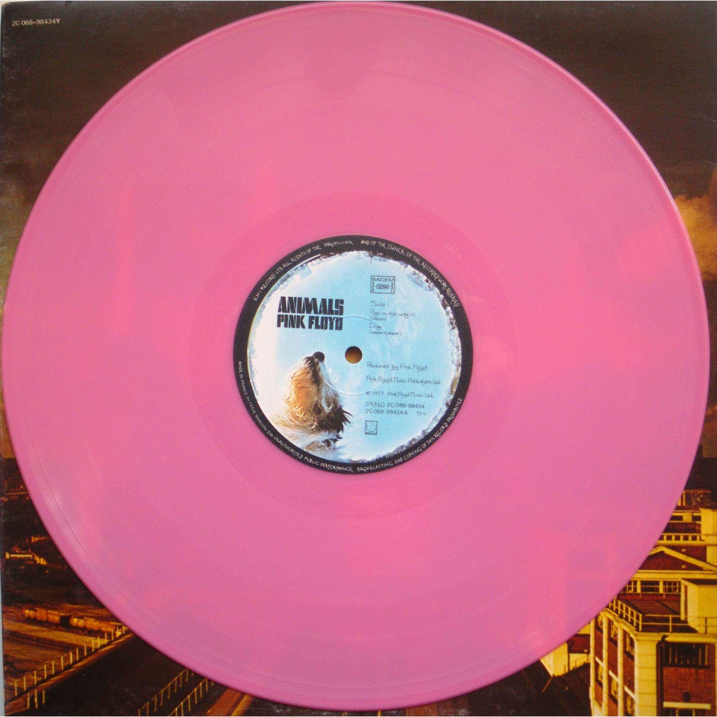 Animals Pink Wax By Pink Floyd Lp Gatefold With Paskale