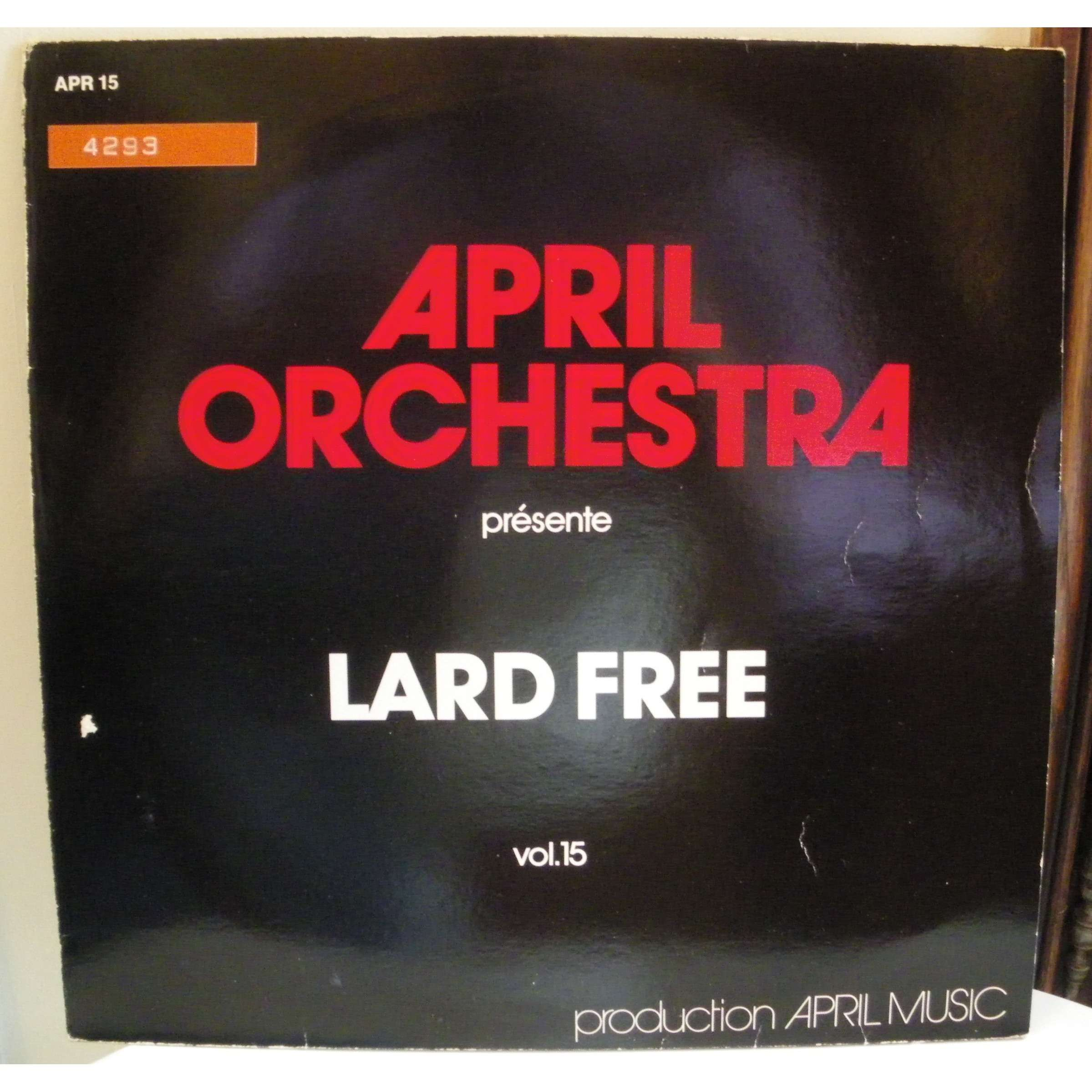 lard free APRIL ORCHESTRA VOL. 15