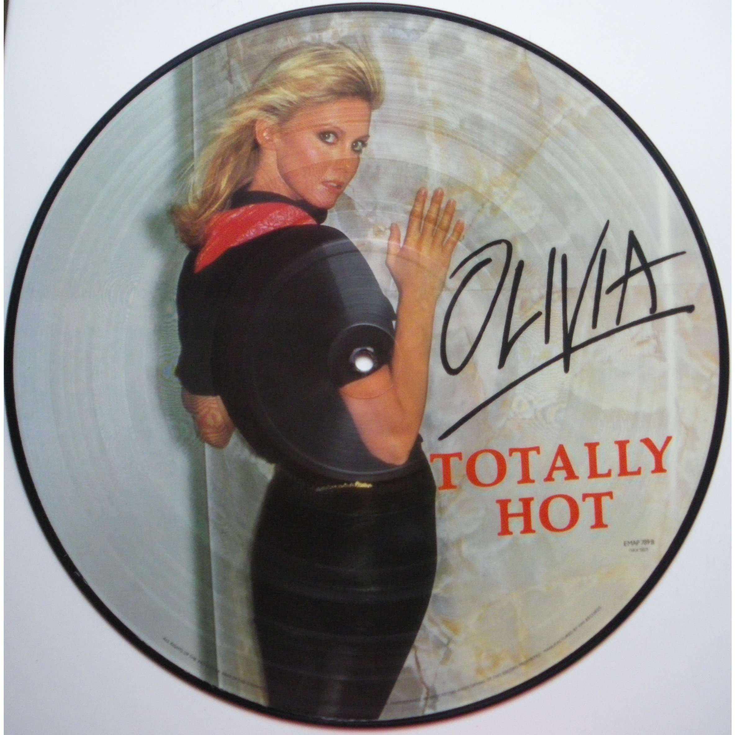OLIVIA NEWTON JOHN totally hot ( picture disk )
