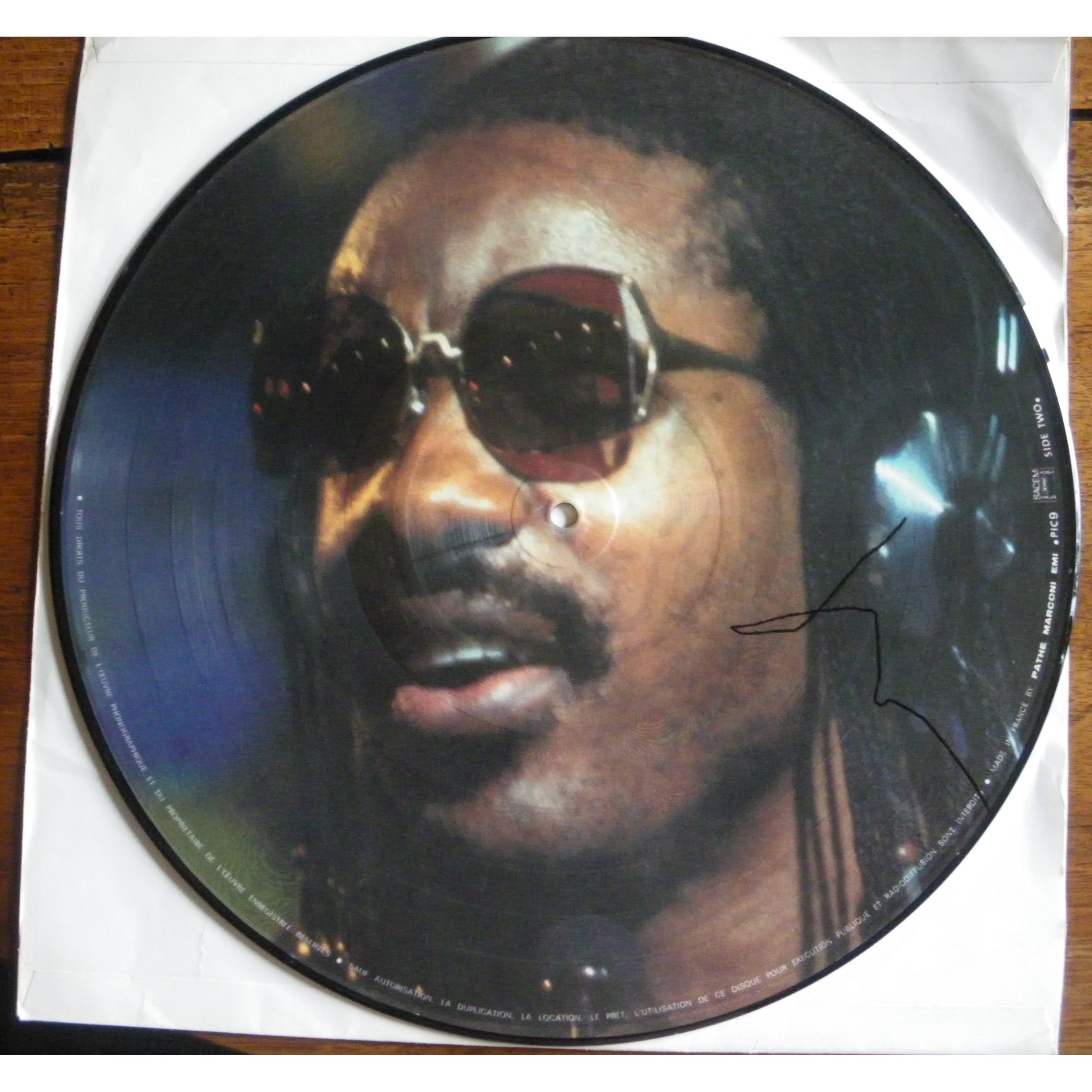 STEVIE WONDER talking book - picture disc