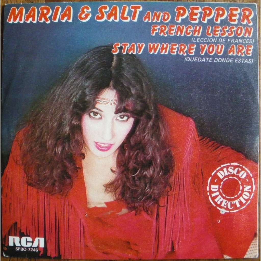 maria & salt and pepper ►♫ french lesson / stay where you are