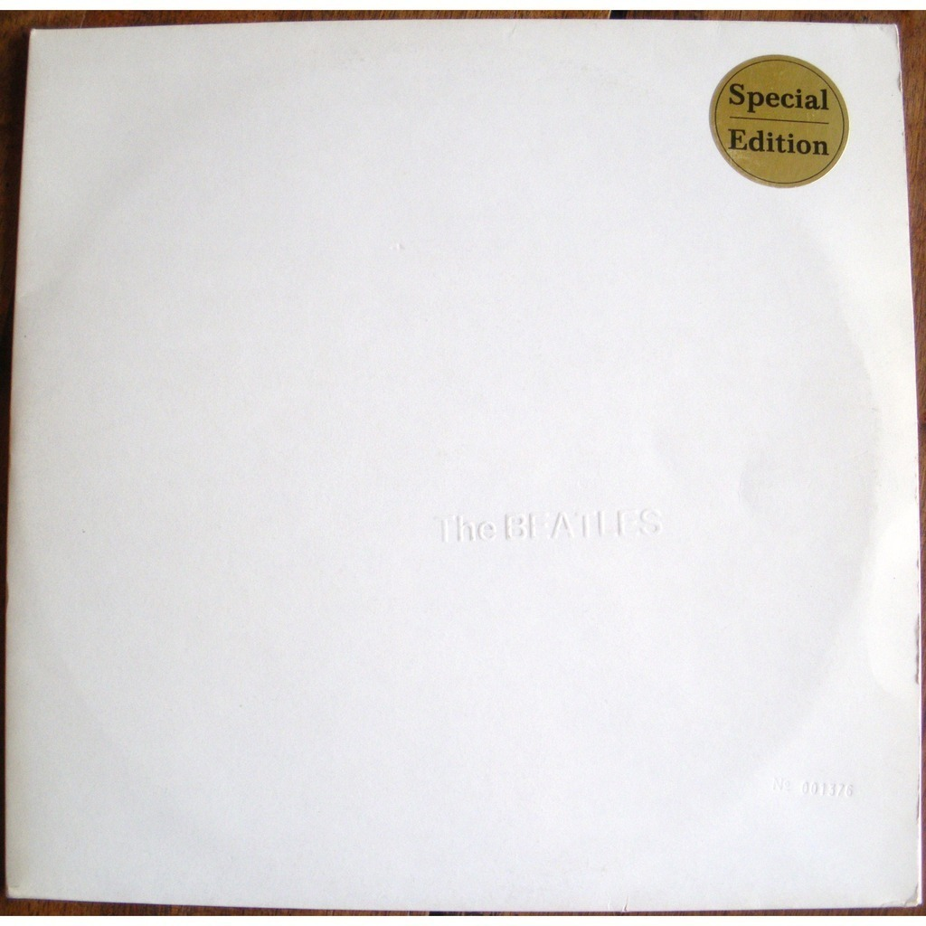 the beatles the beatles - low number 001376  White album