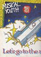 musical youth,musical youth let's go to the moon