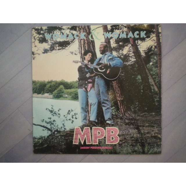Womack & Womack - MPB (Missin' Person Bureau) / Slave (Just For Love)