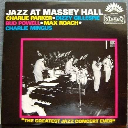 Jazz At Massey Hall By Various Artists The Quintet Lp
