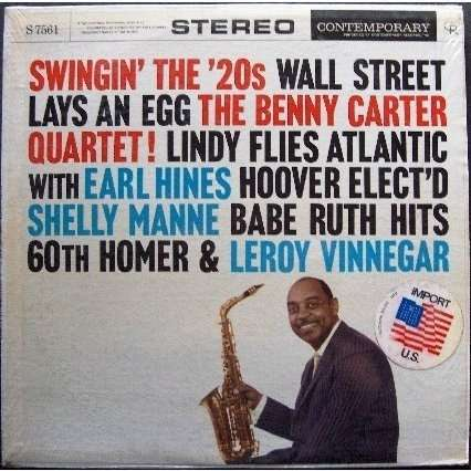 Benny Carter 'Swingin' the '20s'