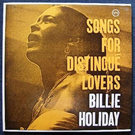 Billie Holiday Songs for distingué lovers (japan)