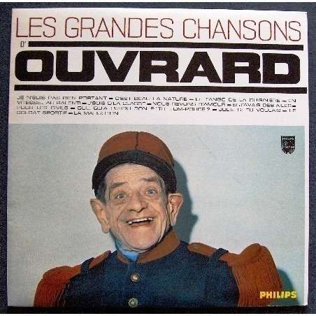 Les Grandes Chansons D Ouvrard By Gaston Ouvrard Lp With