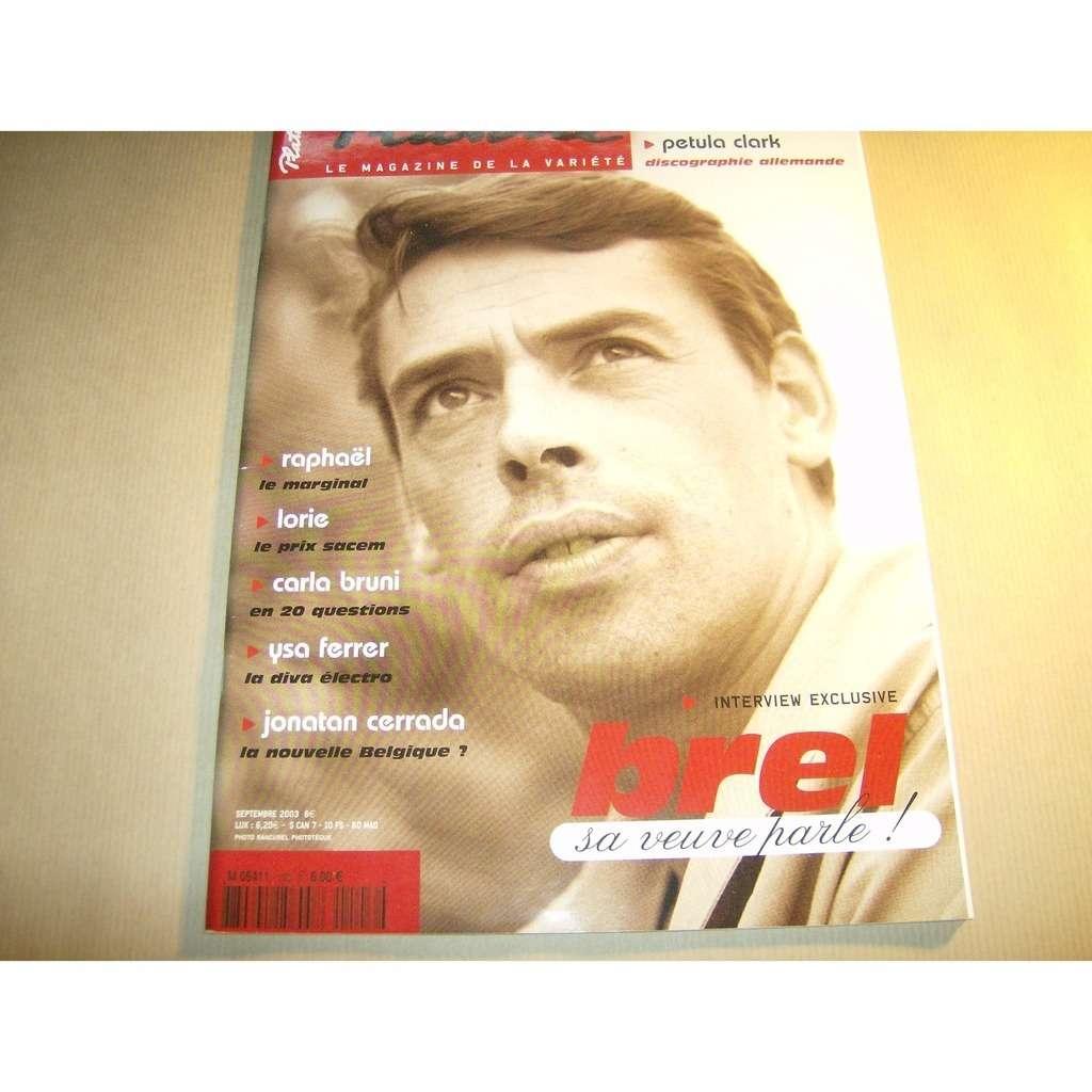 platine magazine jacques brel n°103