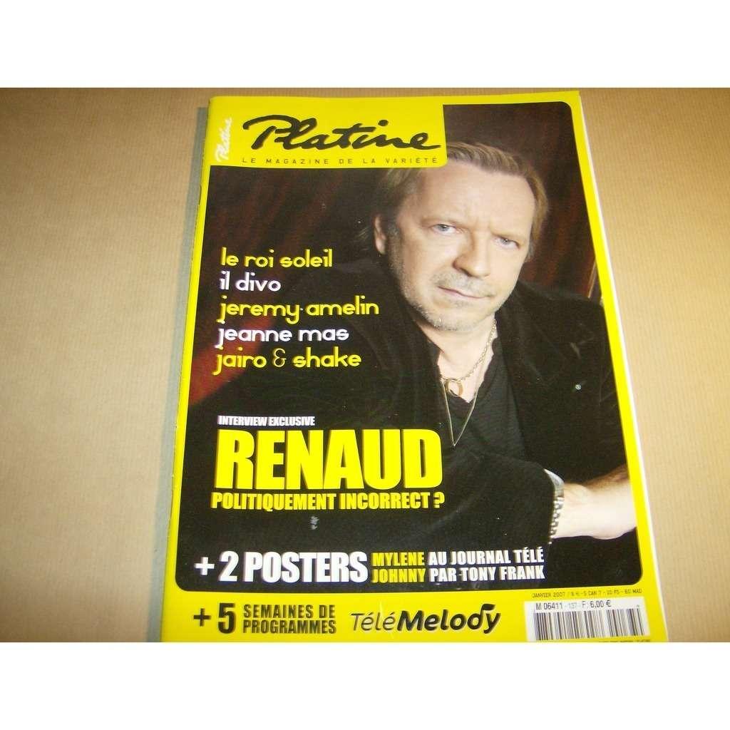 PLATINE MAGAZINE renaud n°137
