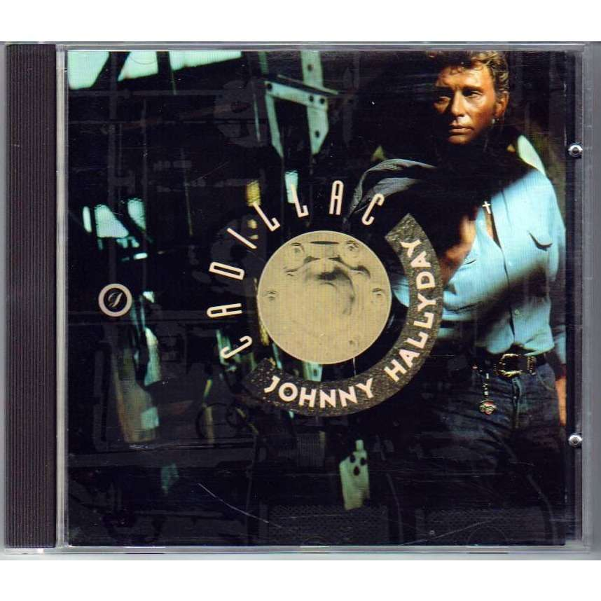 Cadillac by Johnny Hallyday, CD with pinup - Ref:115114533