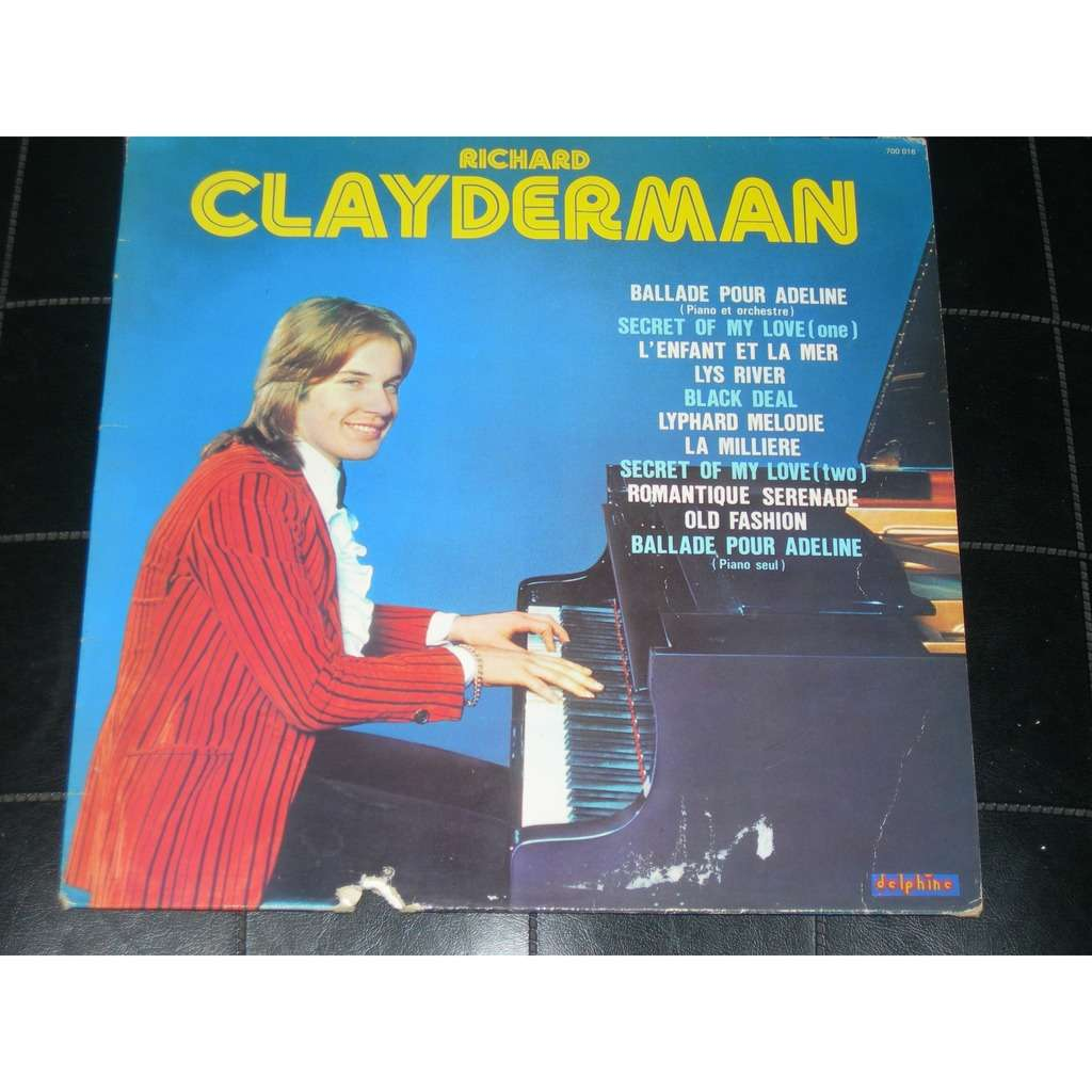 ballade pour adeline by richard clayderman lp with pitouille. Black Bedroom Furniture Sets. Home Design Ideas