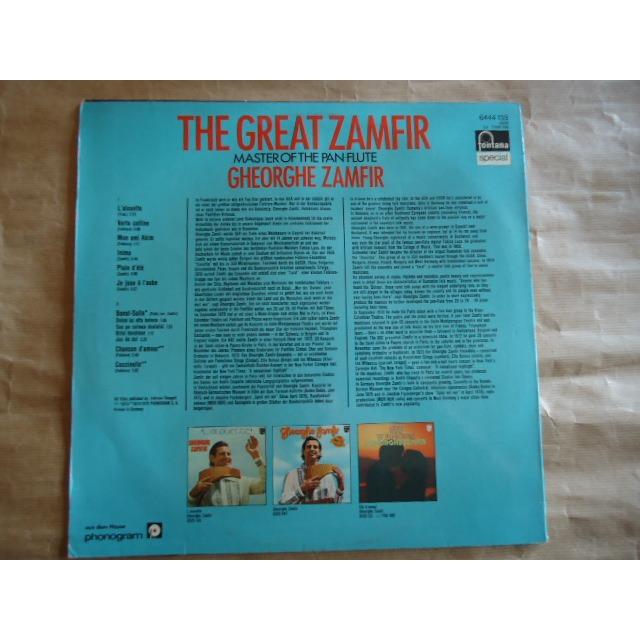 The great zamfir master of the pan-flute by Gheorghe Zamfir, LP ...