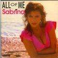 SABRINA - all of me - 7inch (SP)