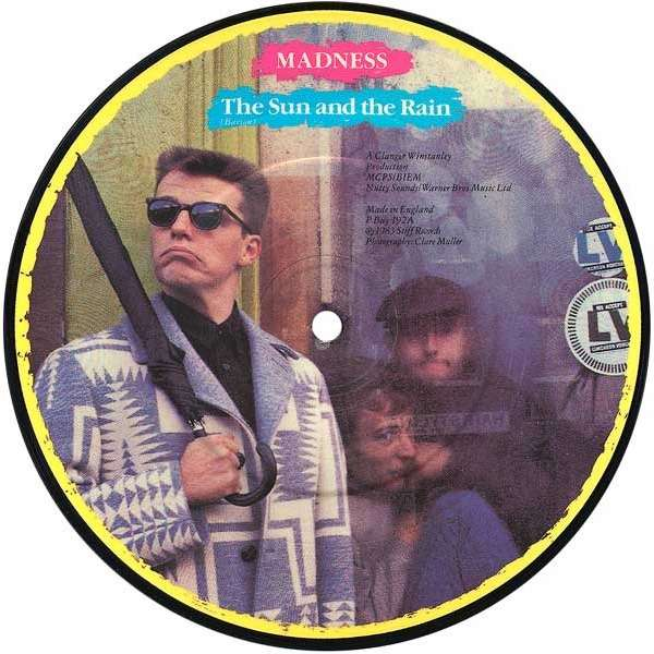 MADNESS (PICTURE DISC RECORD) the sun and the rain