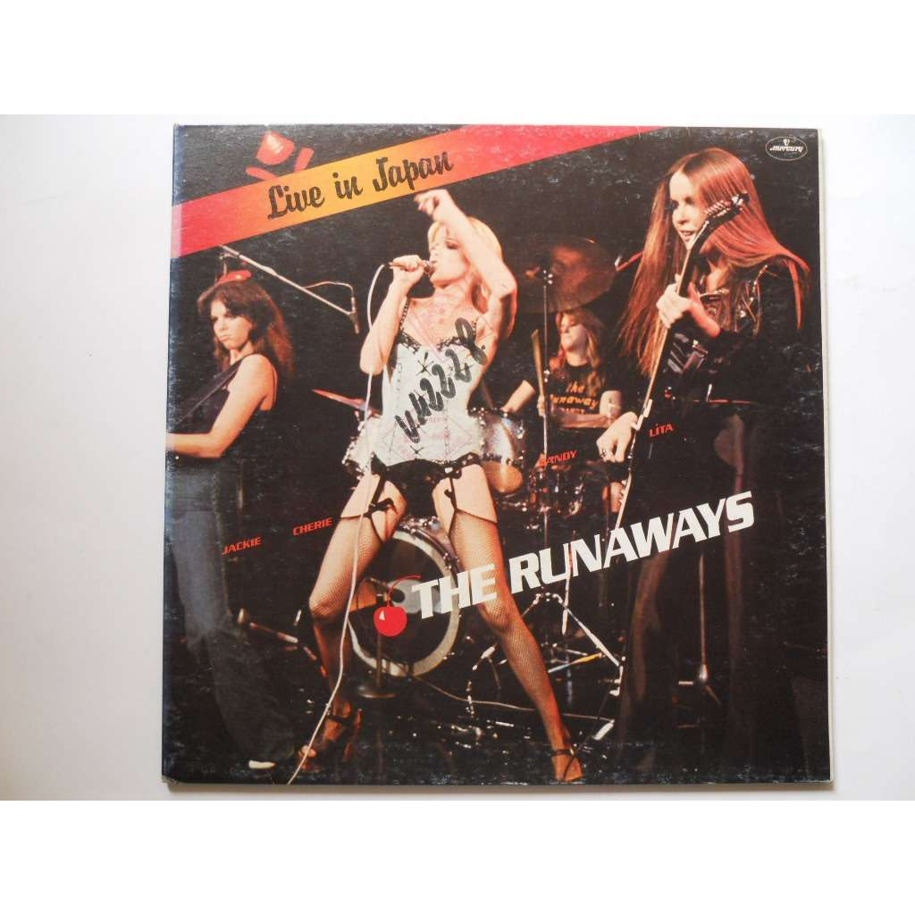 Live In Japan By The Runaways Lp Gatefold With Platine