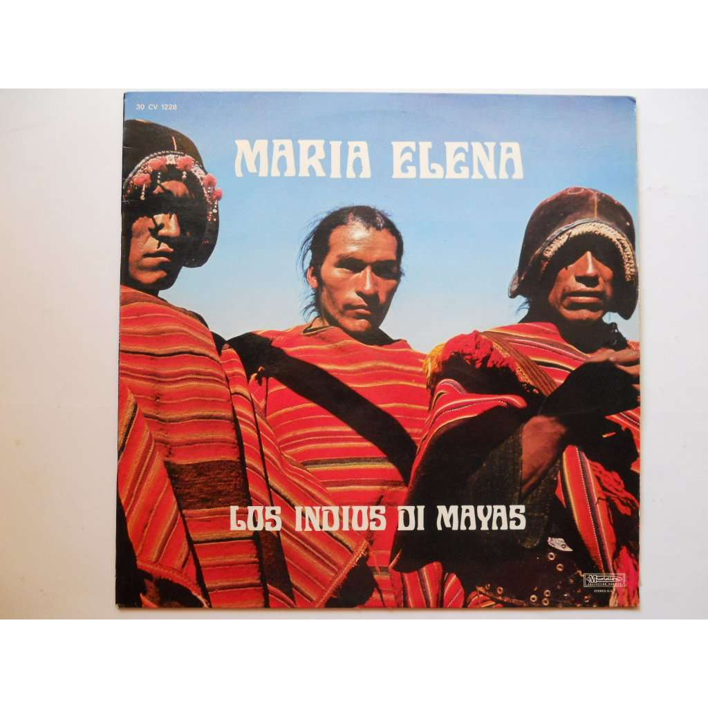 maria elena by los indios di mayas  lp with platine