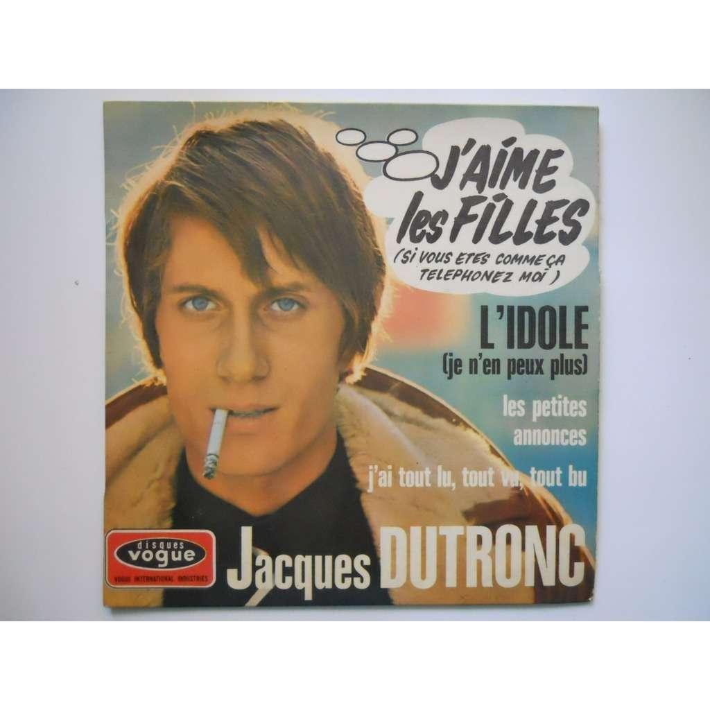Jacques Dutronc - J'aime Les Filles (Si Vous Etes Comme Ça Téléphonez Moi)