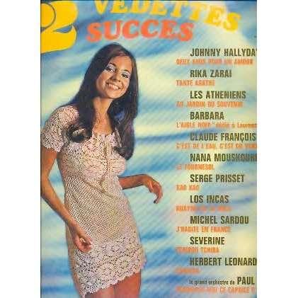 johnny HALLYDAY, BARBARA, claude FRANCOIS 12 VEDETTES 12 SUCCES