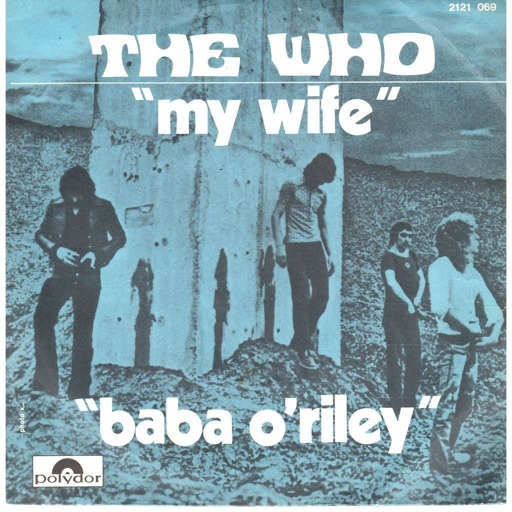 My wife de The Who, SP chez prenaud - Ref:2300233269