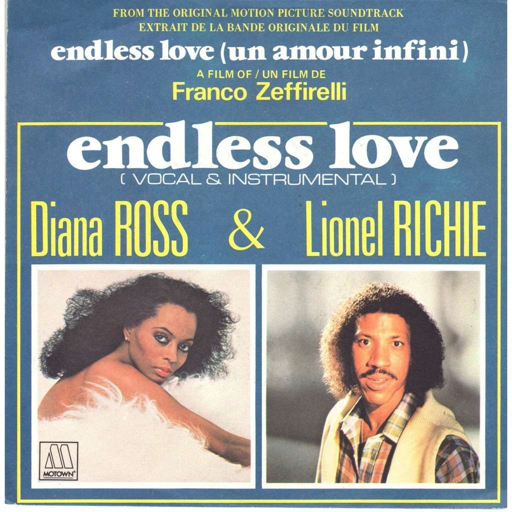 Endless Love By Diana Ross Amp Lionel Richie Sp With