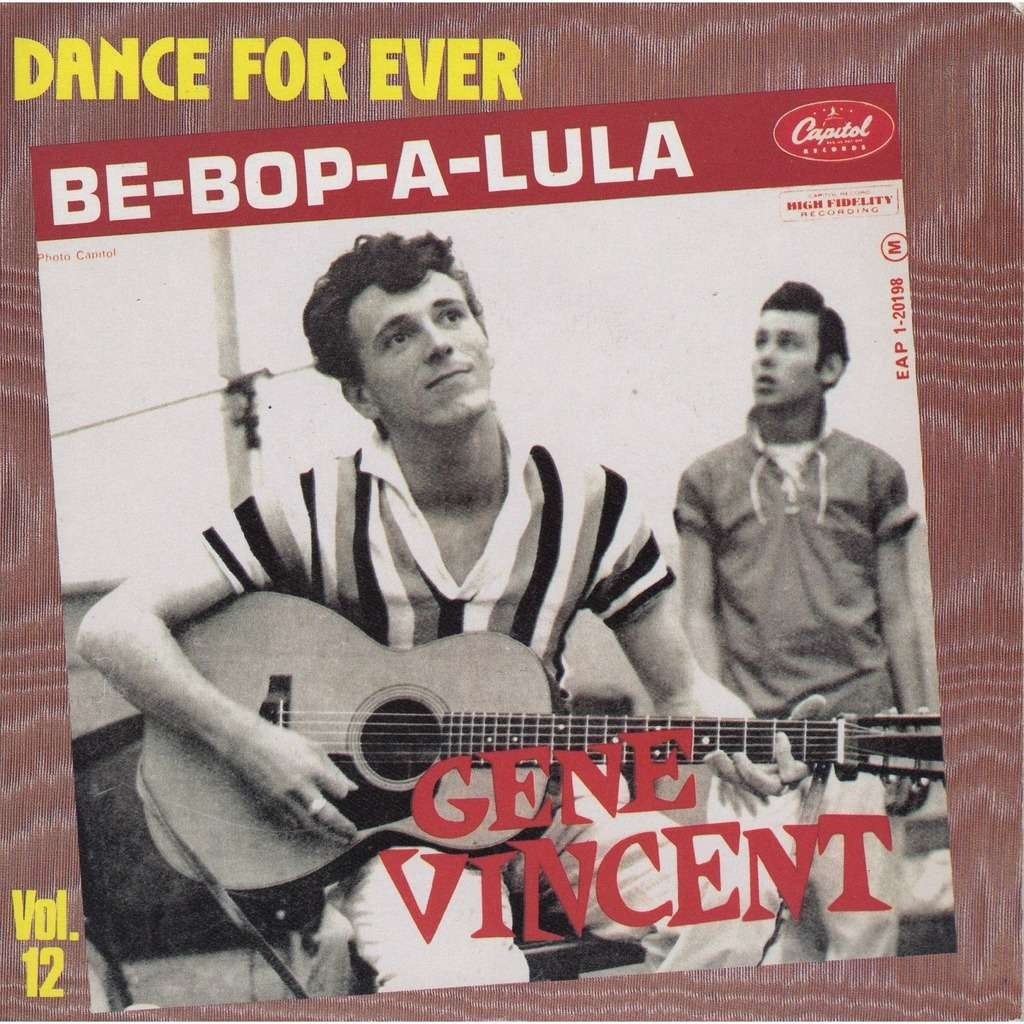 Be Bop A Lula By Gene Vincent Sp With Prenaud Ref 115272425