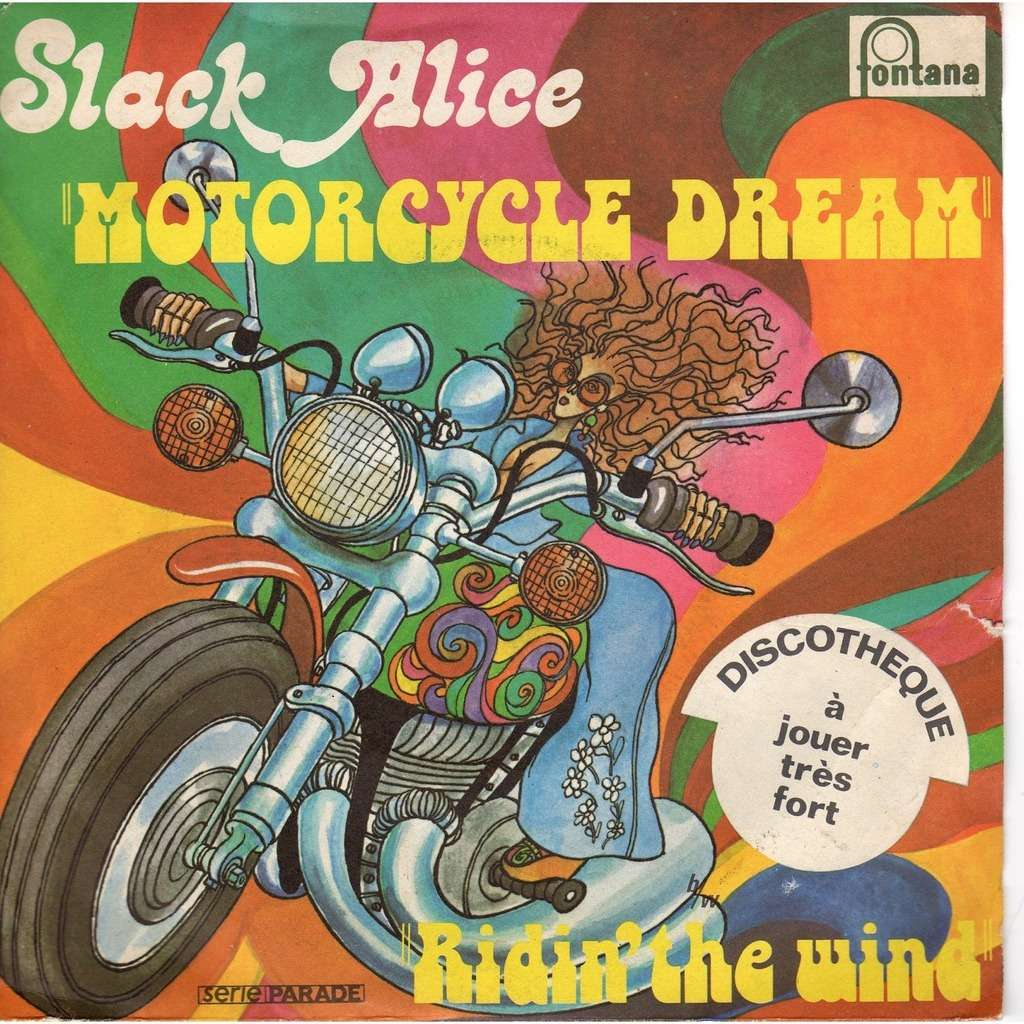 slack alice motorcycle dream