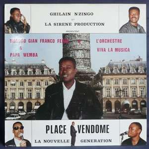 modogo gianfranco ferre & papa wemba Place vendome le nouvelle generation