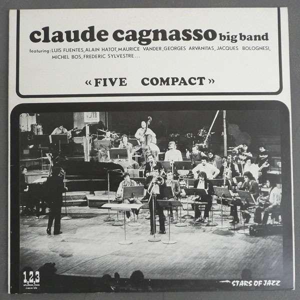 claude cagnasso big band (arvanitas - vander) five compact