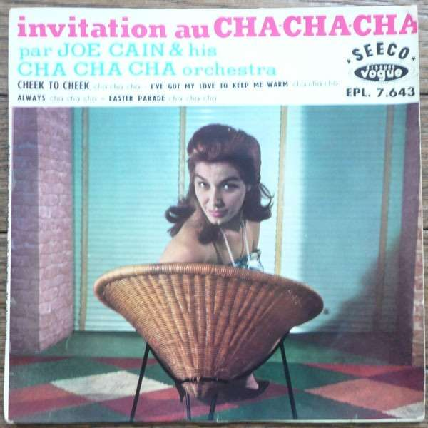 joe cain & his cha cha cha orchestra cheek to cheek + 3