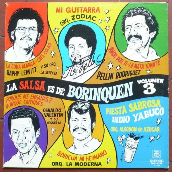 Various - Salsa Selecta - A Taste Of Nuyorican Latin Flavours