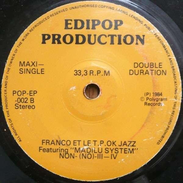 Franco & Orchestre T.P.O.K. Jazz L'Orchestre O.K. Jazz Matinda / Colonel Bangala