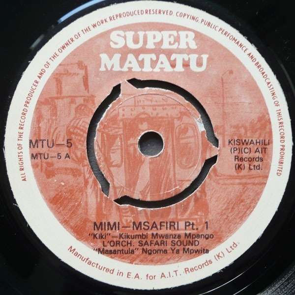 orchestre safari sound mimi msafiri part 1 & 2