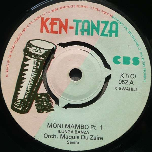 orchestre maquis du zaire moni mambo pt 1 & 2
