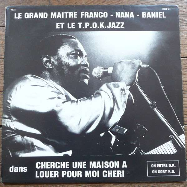 franco le tp ok jazz cherche une maison a louer lp for sale on. Black Bedroom Furniture Sets. Home Design Ideas