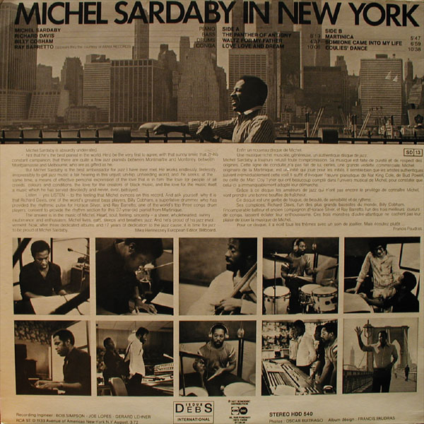 Michel Sardaby In New York
