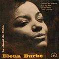 ELENA BURKE - LE CHANT DE CUBA - 7inch (EP)