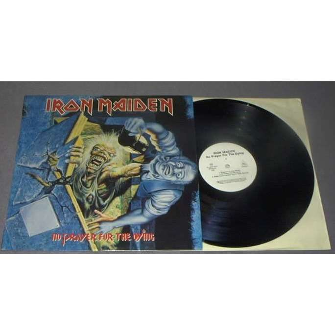 IRON MAIDEN No prayer for the dying-HUNGARIAN PRESSING