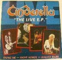 Cinderella The live E.P