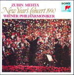 zubin metha new year's concert 1990 wiener philharmoniker