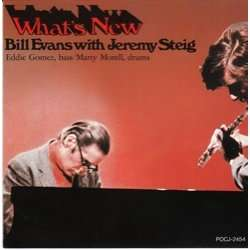 What S New By Bill Evans Jeremy Steig Cd With Pycvinyl