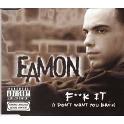 Only Lyrics to fuck it by eamon can