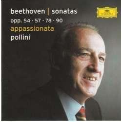 maurizio pollini beethoven: sonaten opp. 54 - 57 - 78 - 90