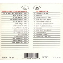 Spiritual songs, traditional chants, flute music of the american indian by  Spiritual Songs Native American Indian, CD x 2 with pycvinyl